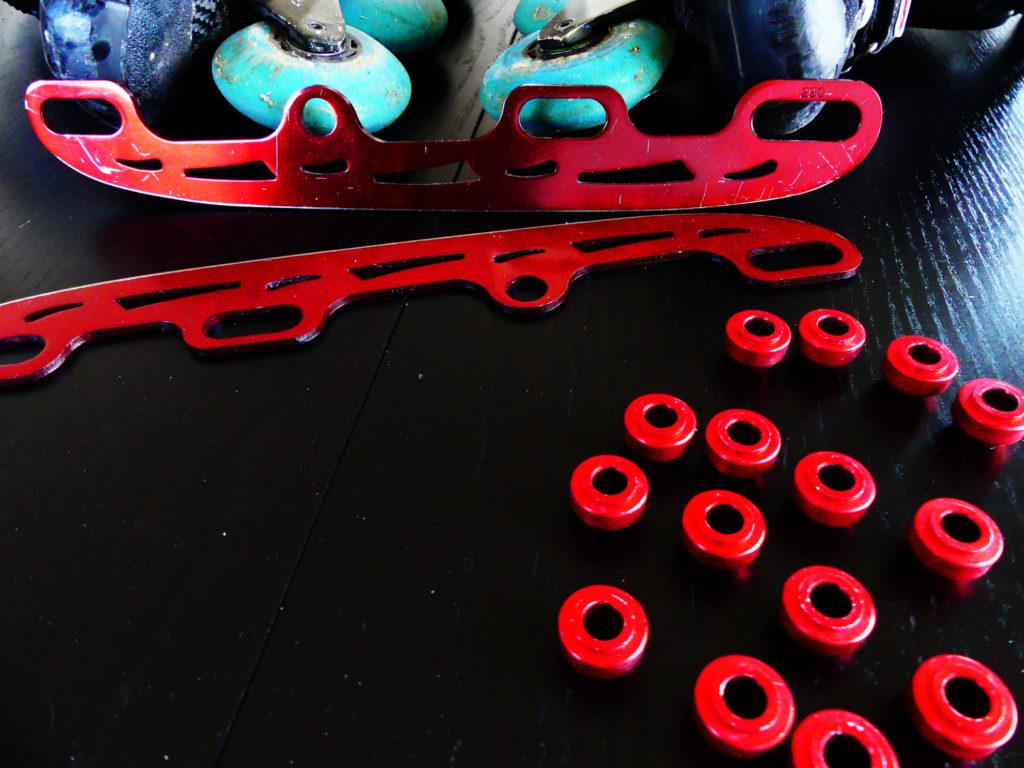 Transformer ses rollers en patin à glace